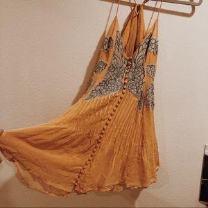 Free People Tangerine Dress 🍊